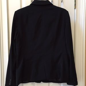 East 5th Jackets & Coats - East 5th long sleeve 3button black stain resistant